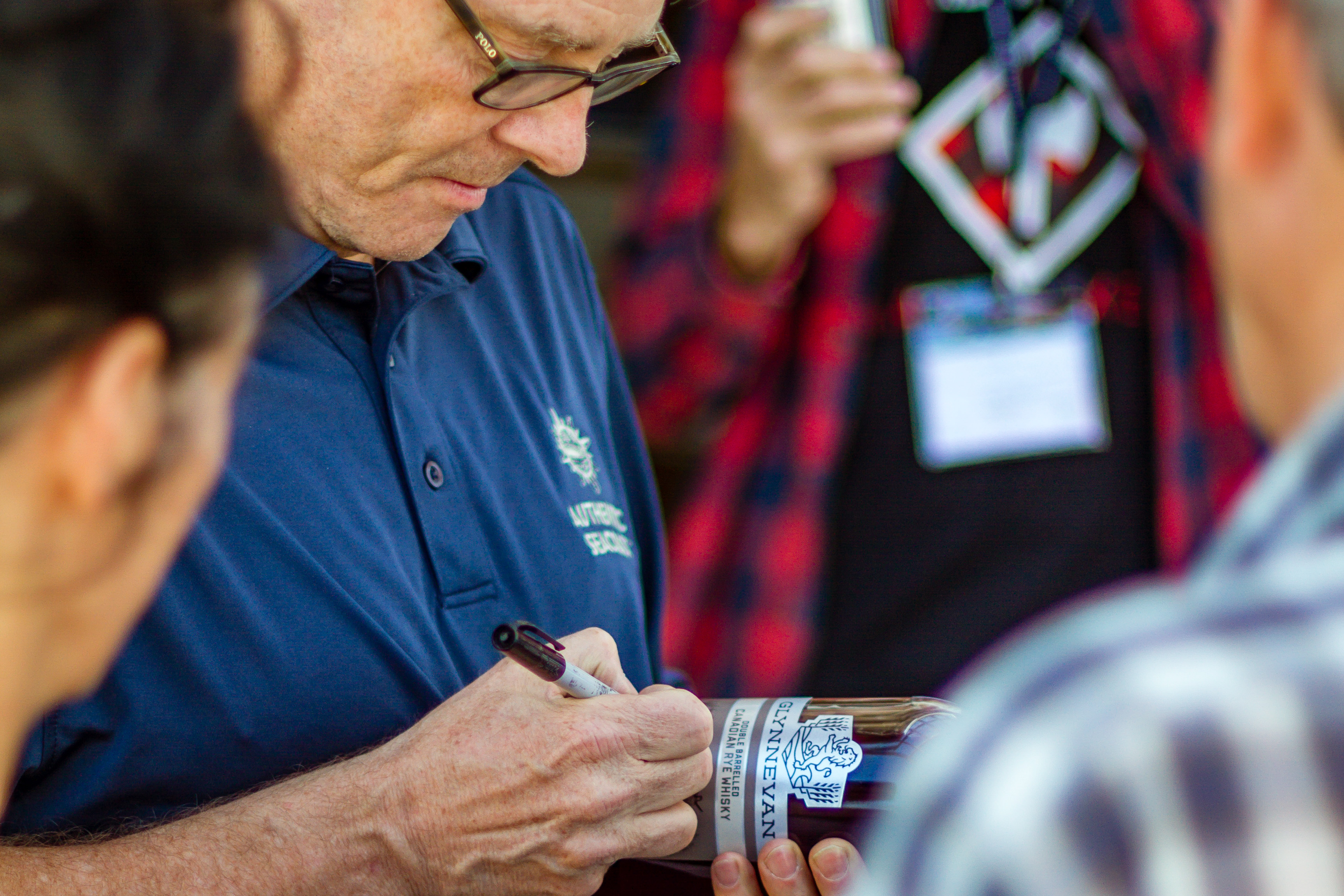 GLYNNEVAN Cabot Whisky Bottle Signing at the Distillery