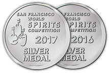 San Francisco World Spirits Competition - Silver - 2017 | 2016