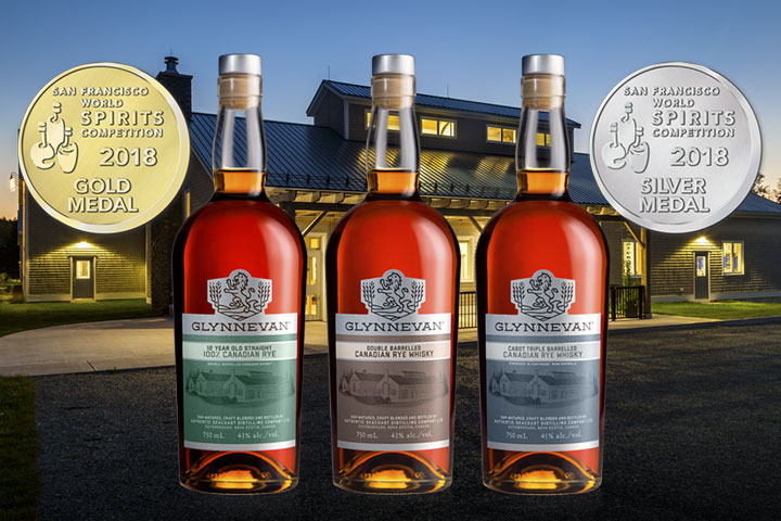 GLYNNEVAN Whisky Wins Three Medals at San Francisco World Spirits Competition