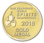 San Francisco World Spirits Competition - Gold - 2018