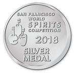 San Francisco World Spirits Competition - Silver - 2018